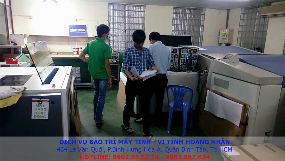 dịch vụ bảo trì máy tính văn phòng
