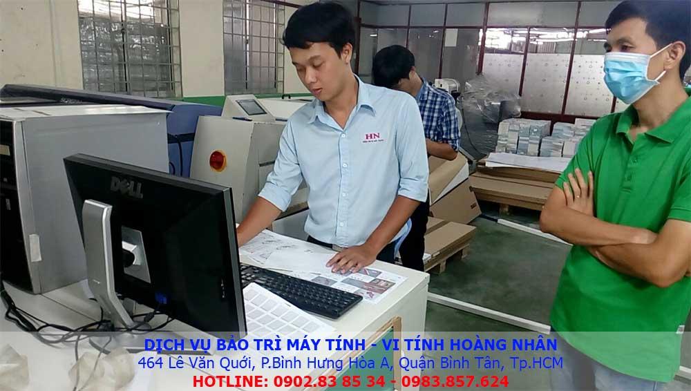 dịch vụ bảo trì máy tính công ty