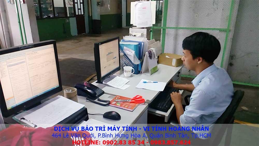 bảo trì máy tính văn phòng quận bình tân