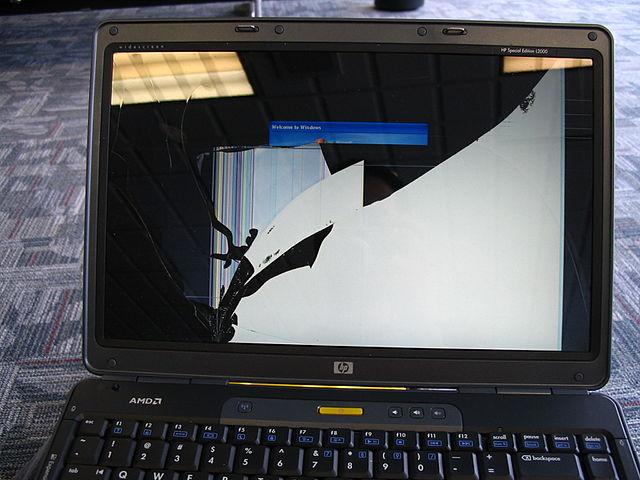 Màn hình laptop bị vỡ