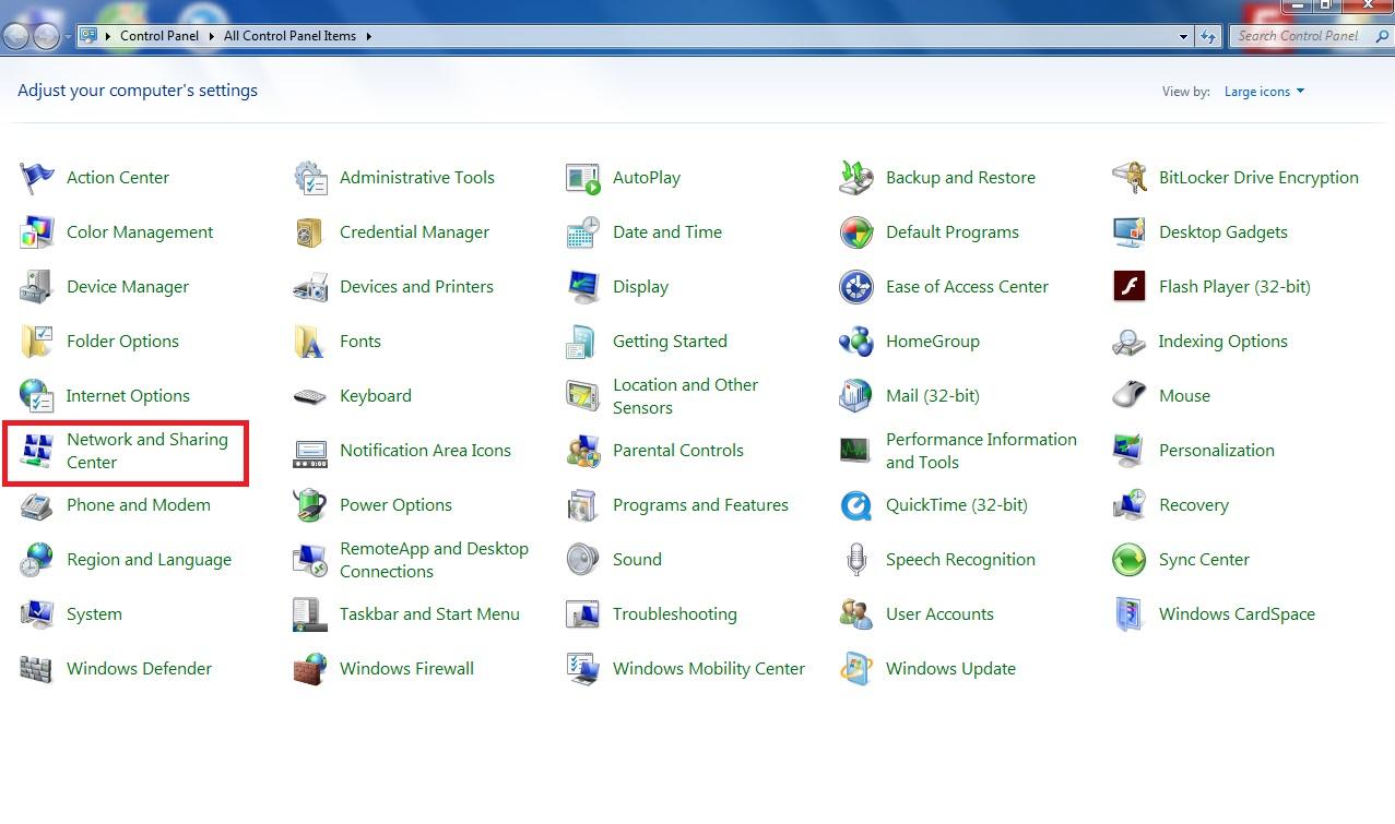 network and sharing sửa mạng máy tính tại nhà
