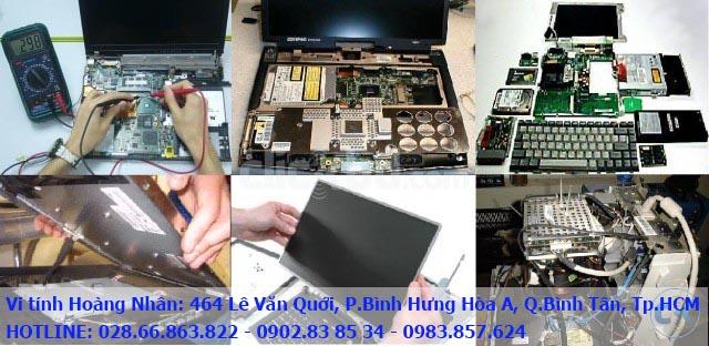 sửa laptop quận Bình Tân Tân Phú