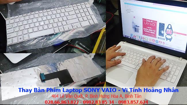 Thay bàn phím laptop Sony Vaio bao nhiêu tiền?